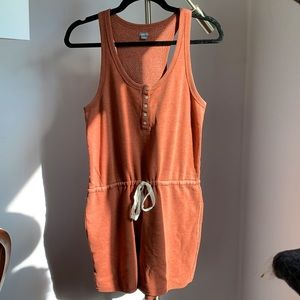 Aerie Romper, cinched waist with pull string